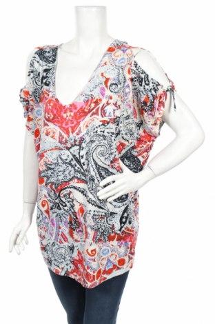 Дамска блуза Beme, Размер S, Цвят Многоцветен, Полиестер, еластан, Цена 4,73лв.