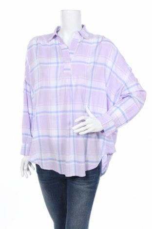 Дамска блуза Charles Vogele, Размер M, Цвят Многоцветен, 49% памук, 51% вискоза, Цена 10,40лв.