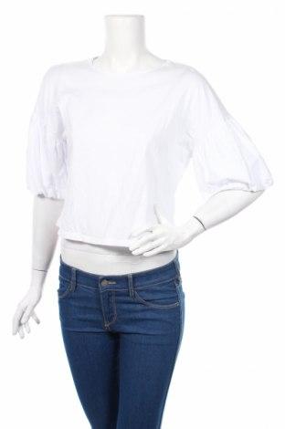 Дамска блуза Edited, Размер M, Цвят Бял, Памук, Цена 30,66лв.