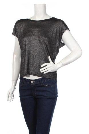 Γυναικεία μπλούζα Jbc, Μέγεθος XS, Χρώμα Γκρί, 95% πολυεστέρας, 5% ελαστάνη, Τιμή 3,02€