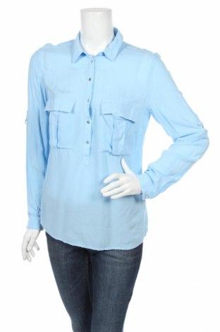 Дамска блуза Reserved, Размер M, Цвят Син, Цена 5,40лв.