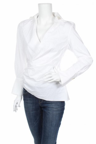 Bluză de femei Zara, Mărime S, Culoare Alb, Bumbac, Preț 92,84 Lei