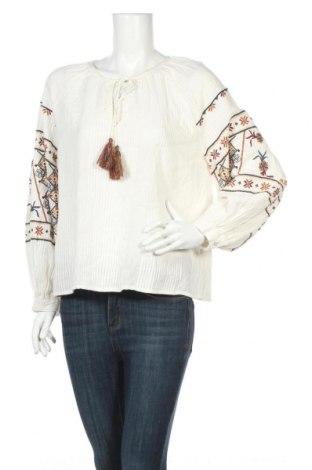 Дамска блуза Zara, Размер L, Цвят Бял, Полиестер, Цена 28,08лв.
