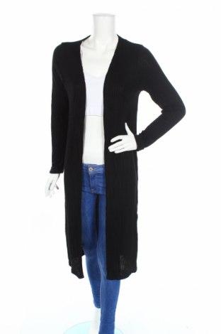 Дамска жилетка New Look, Размер L, Цвят Черен, 82% вискоза, 17% полиестер, 1% еластан, Цена 42,48лв.