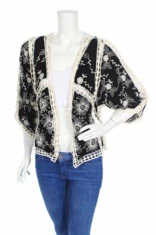 Дамска жилетка New Look, Размер S, Цвят Черен, Вискоза, памук, Цена 40,32лв.