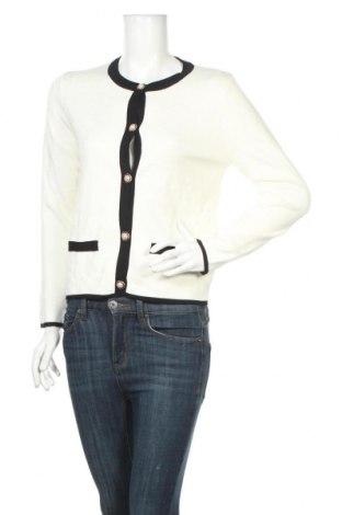 Cardigan de damă Zara, Mărime M, Culoare Alb, 70% viscoză, 30% poliamidă, Preț 111,79 Lei