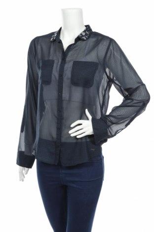 Dámska košeľa  Abercrombie & Fitch, Veľkosť M, Farba Modrá, Polyester, Cena  10,43€