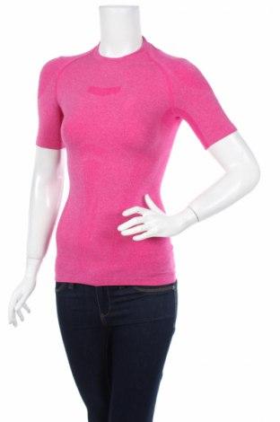 Дамска тениска ASICS, Размер S, Цвят Розов, 51% полиамид, 25% полиестер, 24% еластан, Цена 21,76лв.