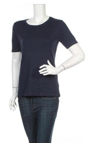 Tricou de femei Laura Torelli, Mărime M, Culoare Albastru, Bumbac, Preț 23,71 Lei