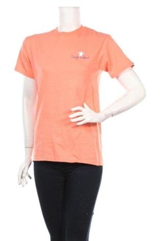 Дамска тениска Simply Southern, Размер S, Цвят Оранжев, Памук, Цена 16,24лв.