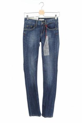 Дамски дънки Liu Jo, Размер XS, Цвят Син, 88% памук, 12% еластан, Цена 112,77лв.