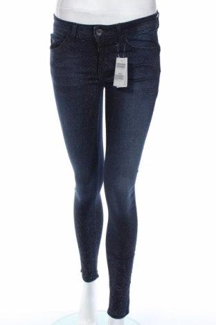 Дамски дънки Liu Jo, Размер S, Цвят Син, 40% памук, 36% вискоза, 22% лиосел, 2% еластан, Цена 121,72лв.