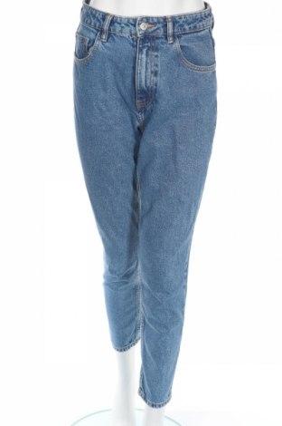 Blugi de femei Zara, Mărime XS, Culoare Albastru, Bumbac, Preț 111,79 Lei