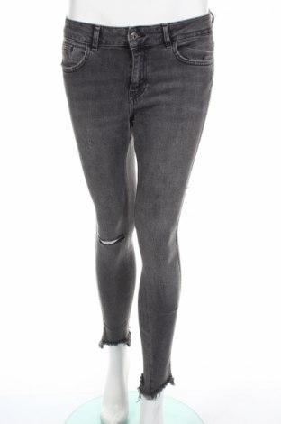 Γυναικείο Τζίν Zara, Μέγεθος M, Χρώμα Γκρί, 98% βαμβάκι, 2% ελαστάνη, Τιμή 10,10€