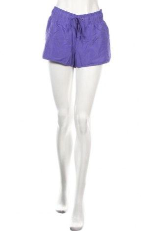 Γυναικείο κοντό παντελόνι Sports, Μέγεθος XL, Χρώμα Βιολετί, Πολυεστέρας, Τιμή 2,76€