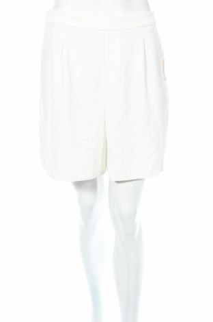 Γυναικείο κοντό παντελόνι Unique, Μέγεθος L, Χρώμα Λευκό, Πολυεστέρας, ελαστάνη, Τιμή 7,47€