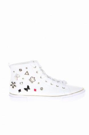 Γυναικεία παπούτσια Guess, Μέγεθος 40, Χρώμα Λευκό, Δερματίνη, Τιμή 50,52€