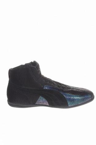 Dámske topánky  PUMA, Veľkosť 42, Farba Čierna, Pravá koža , textil, Cena  50,16€