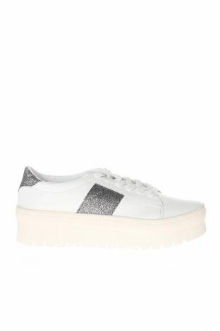 Γυναικεία παπούτσια Rainbow, Μέγεθος 39, Χρώμα Λευκό, Δερματίνη, Τιμή 20,04€