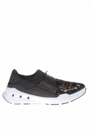 Dámske topánky  Replay, Veľkosť 39, Farba Čierna, Textil, pravá koža , Cena  40,98€