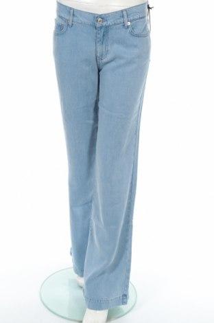 Γυναικείο παντελόνι 7 For All Mankind, Μέγεθος M, Χρώμα Μπλέ, Lyocell, Τιμή 9,84€