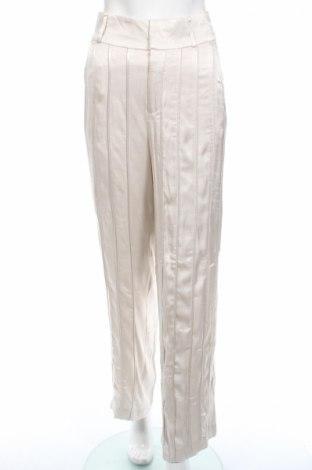Дамски панталон Gestuz, Размер M, Цвят Екрю, Вискоза, Цена 25,19лв.