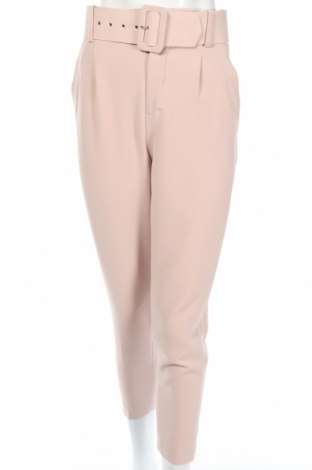 Pantaloni de femei Zara, Mărime XS, Culoare Bej, 94% poliester, 6% elastan, Preț 87,16 Lei