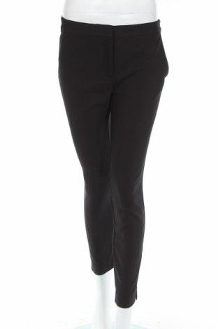 Pantaloni de femei Zara, Mărime S, Culoare Negru, 54% bumbac, 42% poliester, 4% elastan, Preț 111,79 Lei