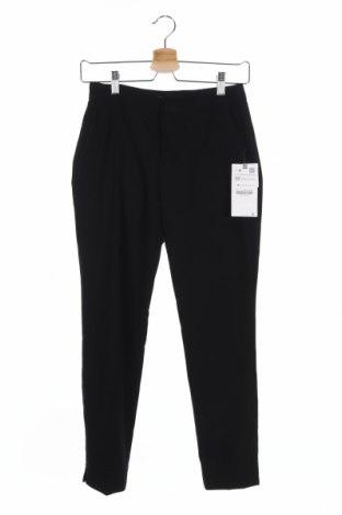 Γυναικείο παντελόνι Zara, Μέγεθος XXS, Χρώμα Μαύρο, 63% πολυεστέρας, 33% βισκόζη, 4% ελαστάνη, Τιμή 21,90€