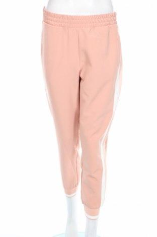 Pantaloni de femei Zara, Mărime M, Culoare Roz, 88% poliester, 12% elastan, Preț 87,16 Lei