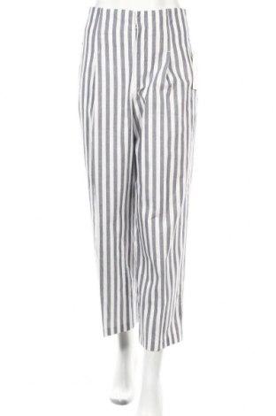 Pantaloni de femei Zara, Mărime S, Culoare Albastru, Bumbac, Preț 155,26 Lei