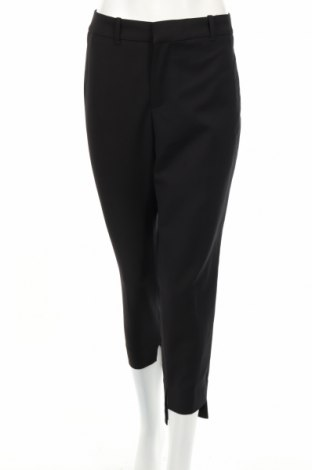 Pantaloni de femei Zara, Mărime XL, Culoare Negru, 51% bumbac, 46% poliester, 3% elastan, Preț 111,79 Lei