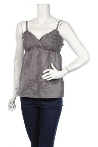 Γυναικείο αμάνικο μπλουζάκι Jacob, Μέγεθος M, Χρώμα Γκρί, Βαμβάκι, Τιμή 3,64€