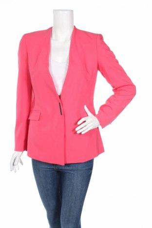 Sacou de femei Zara, Mărime M, Culoare Roz, 72% poliester, 21% viscoză, 7% elastan, Preț 136,19 Lei