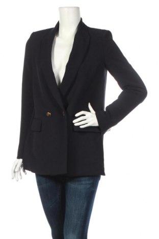 Dámské sako  Zara, Rozměr S, Barva Modrá, 94% polyester, 6% elastan, Cena  802,00Kč