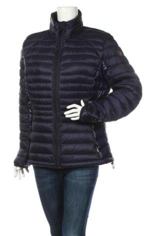 Γυναικείο μπουφάν Napapijri, Μέγεθος XXL, Χρώμα Μπλέ, Πολυαμίδη, Τιμή 104,53€