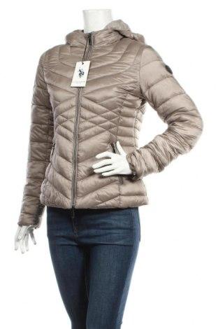 Γυναικείο μπουφάν U.S. Polo Assn., Μέγεθος M, Χρώμα  Μπέζ, Πολυαμίδη, Τιμή 110,23€