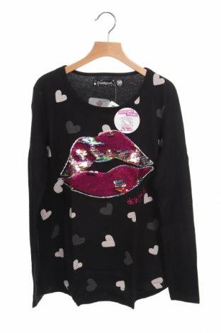 Παιδική μπλούζα Desigual, Μέγεθος 13-14y/ 164-168 εκ., Χρώμα Μαύρο, Βαμβάκι, Τιμή 18,19€