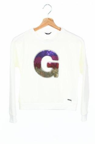 Детска блуза Guess, Размер 10-11y/ 146-152 см, Цвят Бял, Полиестер, Цена 44,25лв.