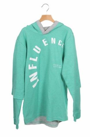 Παιδική μπλούζα S.Oliver, Μέγεθος 15-18y/ 170-176 εκ., Χρώμα Πράσινο, 76% βαμβάκι, 20% πολυεστέρας, 4% βισκόζη, Τιμή 14,10€
