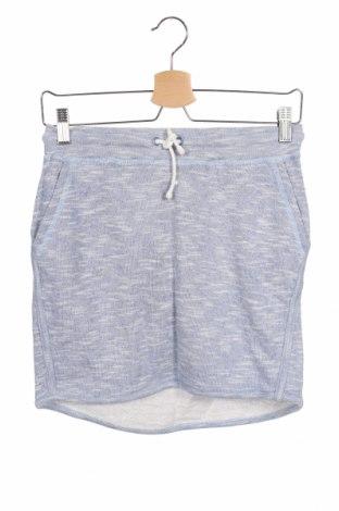Παιδική φούστα Bench, Μέγεθος 12-13y/ 158-164 εκ., Χρώμα Μπλέ, 75% βαμβάκι, 25% πολυεστέρας, Τιμή 20,10€
