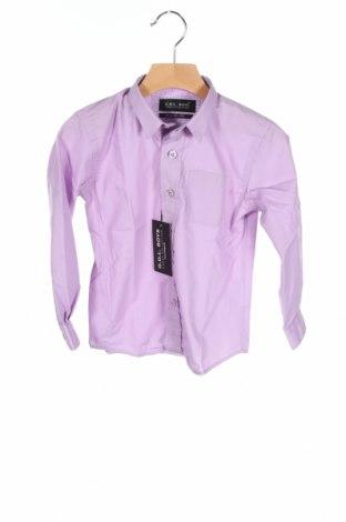 Dziecięca koszula G.o.l. Boys, Rozmiar 2-3y/ 98-104 cm, Kolor Fioletowy, 65% poliester, 35% bawełna, Cena 64,60zł