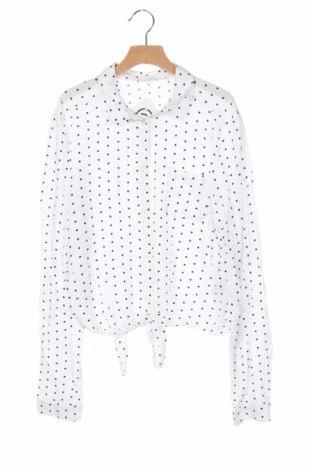 Detská košeľa  H&M, Veľkosť 15-18y/ 170-176 cm, Farba Biela, Viskóza, Cena  4,08€