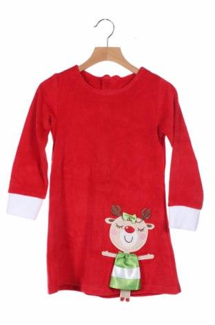 Παιδικό φόρεμα Deno, Μέγεθος 5-6y/ 116-122 εκ., Χρώμα Κόκκινο, 80% βαμβάκι, 20% πολυεστέρας, Τιμή 14,94€