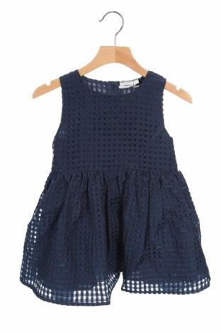 Detské šaty  Name It, Veľkosť 18-24m/ 86-98 cm, Farba Modrá, Polyester, Cena  9,07€