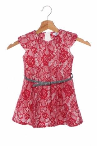 Детска рокля Oviesse, Размер 18-24m/ 86-98 см, Цвят Розов, 13% полиестер, 41% полиамид, 46% акрил, Цена 39,00лв.