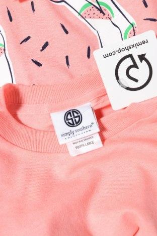 Παιδικό μπλουζάκι Simply Southern, Μέγεθος 14-15y/ 168-170 εκ., Χρώμα Ρόζ , Βαμβάκι, Τιμή 2,41€