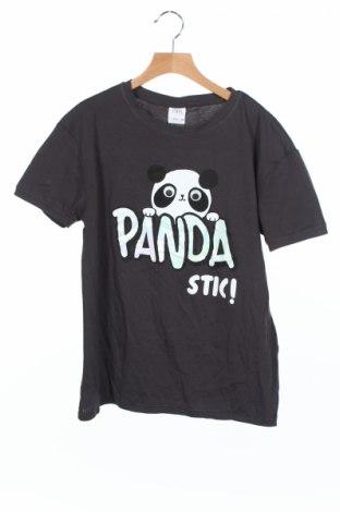Tricou de copii Zara Kids, Mărime 13-14y/ 164-168 cm, Culoare Gri, Bumbac, Preț 43,42 Lei
