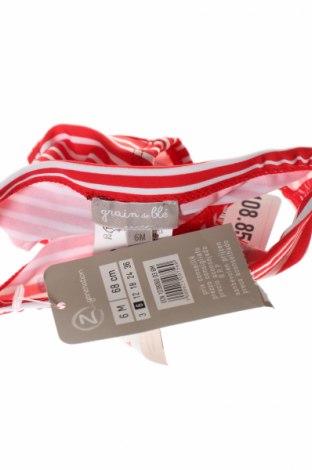Μαγιό παιδικό Grain De Ble, Μέγεθος 3-6m/ 62-68 εκ., Χρώμα Κόκκινο, 83% πολυαμίδη, 17% ελαστάνη, Τιμή 2,60€