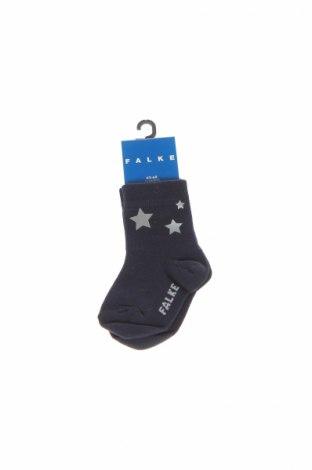 Detské ponožky  Falke, Veľkosť 3-6m/ 62-68 cm, Farba Modrá, 94% bavlna, 4% polyamide, 2% elastan, Cena  8,16€